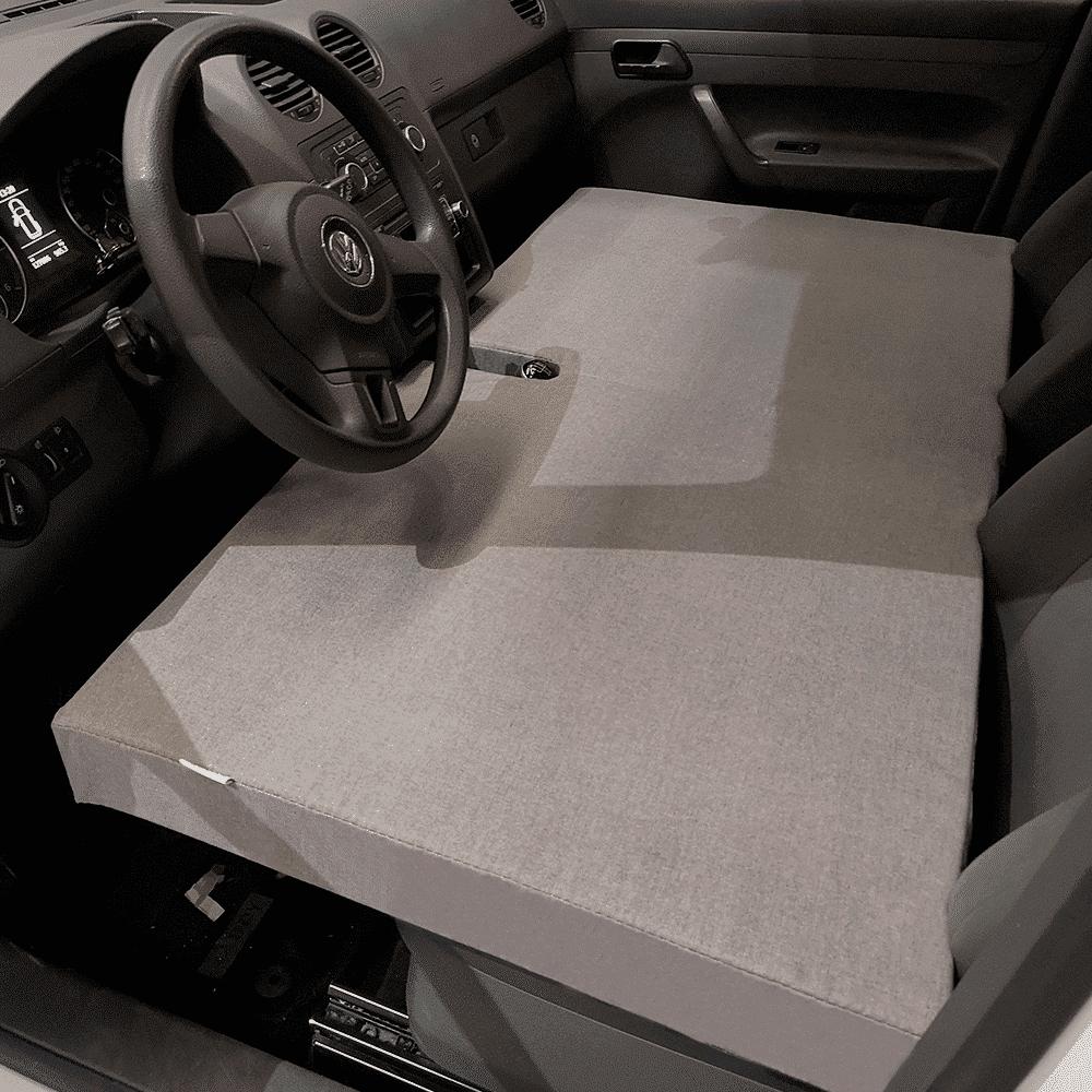 KFoam.es Colch/ón Plegable Cama Delantera Camper para Volkswagen T4 T5 y T6
